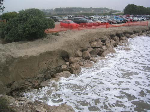 Goleta_Beach_rock_revetment.March2004