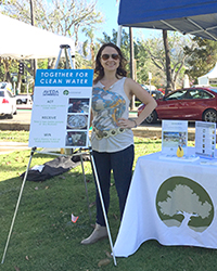 Melissa McLaughlin at SB Earth Day Fest 2016