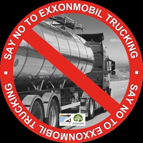 Say NO to ExxonMobil Trucking